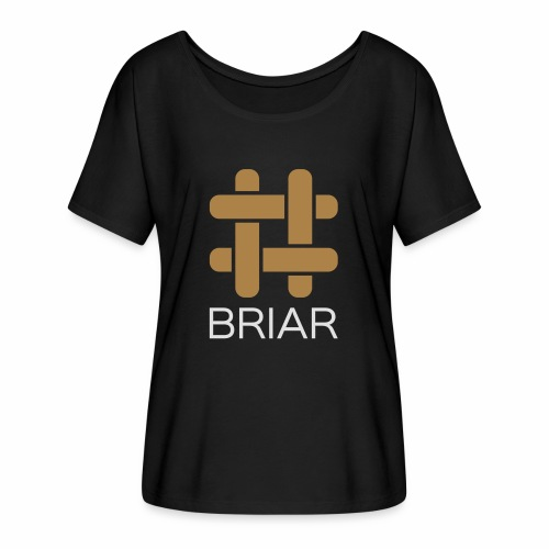 Briar Slim Fit (Male) - Women's Batwing-Sleeve T-Shirt by Bella + Canvas