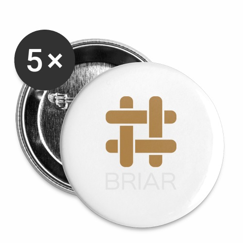 Briar Slim Fit (Male) - Buttons medium 1.26/32 mm (5-pack)