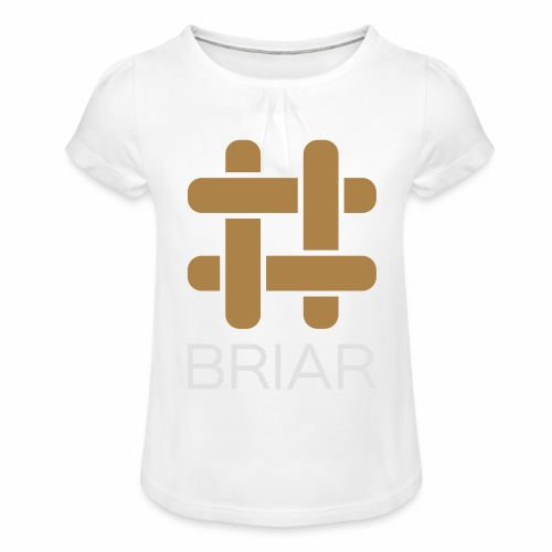 Briar Slim Fit (Male) - Girl's T-Shirt with Ruffles