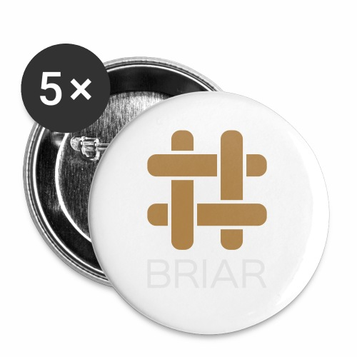 Briar Slim Fit (Male) - Buttons small 1''/25 mm (5-pack)
