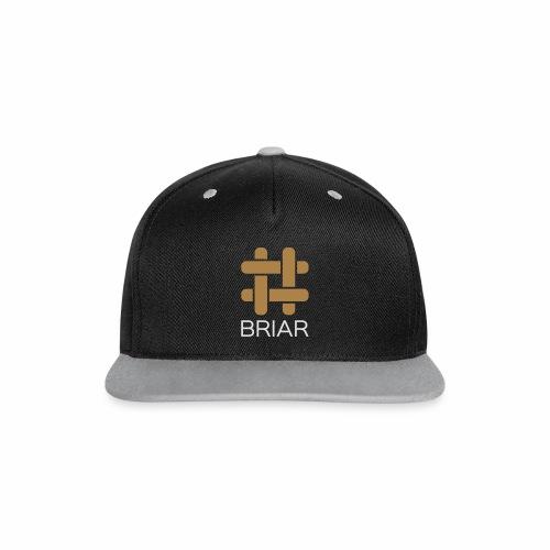 Briar Slim Fit (Male) - Contrast Snapback Cap