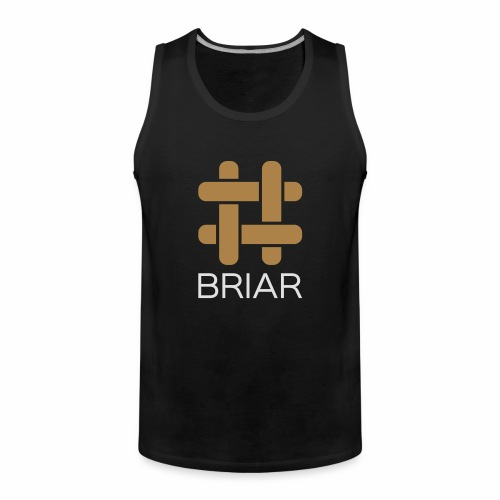 Briar Slim Fit (Male) - Men's Premium Tank Top