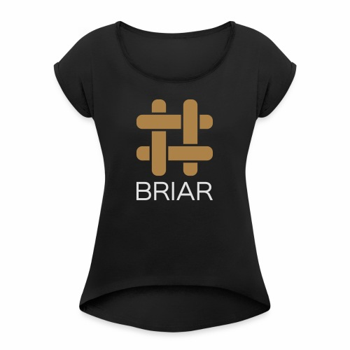 Briar Slim Fit (Male) - Women's T-Shirt with rolled up sleeves