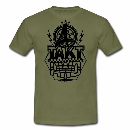 4-Takt-Awo / Viertaktawo - Men's T-Shirt