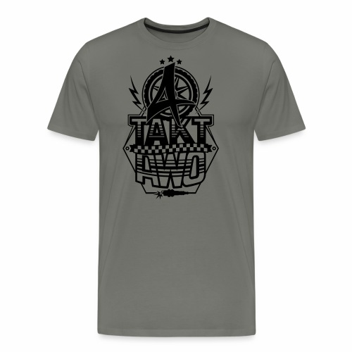 4-Takt-Awo / Viertaktawo - Men's Premium T-Shirt