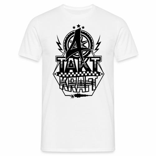 4-Takt-Kraft / Viertaktkraft - Men's T-Shirt