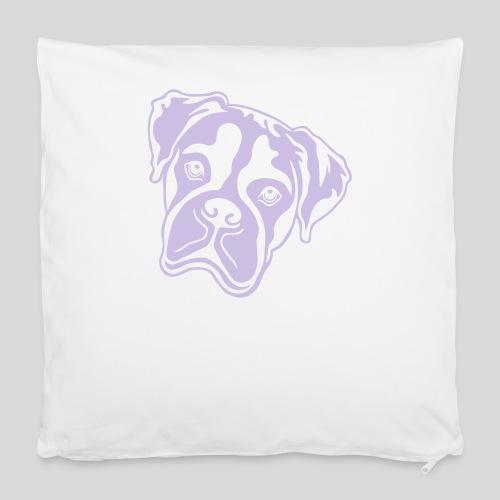 Boxer *hell* nur für dunkle Textilien - Kissenbezug 40 x 40 cm