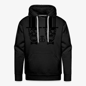 03 Skulls Bräutigam Bräutigam Elite JGA T-Shirt - Männer Premium Hoodie