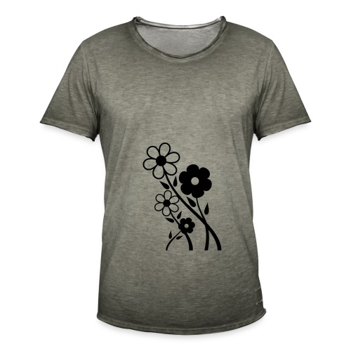 Flowers - Men's Vintage T-Shirt