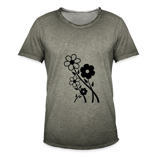 Flowers - Men's Vintage T-Shirt