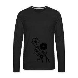 Flowers - Men's Premium Longsleeve Shirt