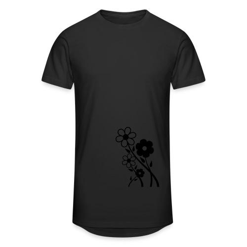 Flowers - Männer Urban Longshirt