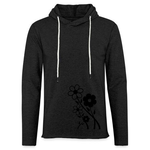 Flowers - Leichtes Kapuzensweatshirt Unisex