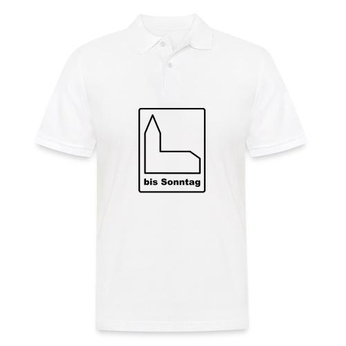 BIS SONNTAG-white|black (Girls) - Männer Poloshirt