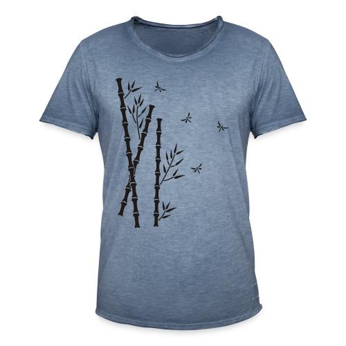 Bambus-Libellen - Männer Vintage T-Shirt