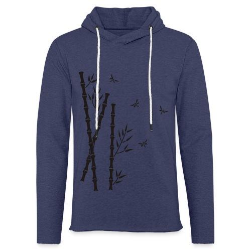 Bambus-Libellen - Leichtes Kapuzensweatshirt Unisex