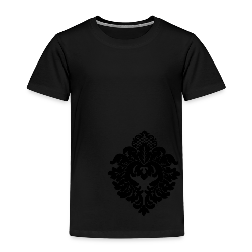 ChiBriNo Top Ornament silber links unten - Kinder Premium T-Shirt