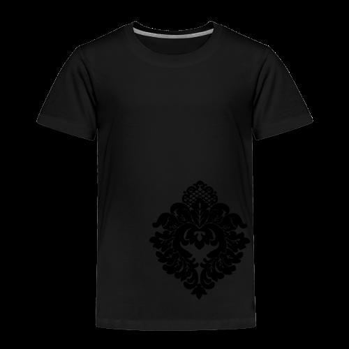 ChiBriNo Top - Ornament gold links unten - Kinder Premium T-Shirt