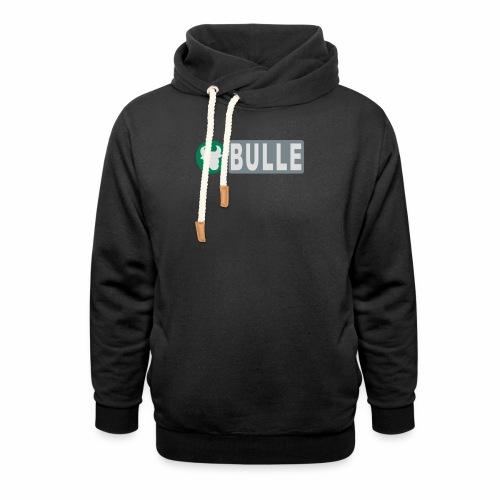 Shirt Bulle - Schalkragen Hoodie