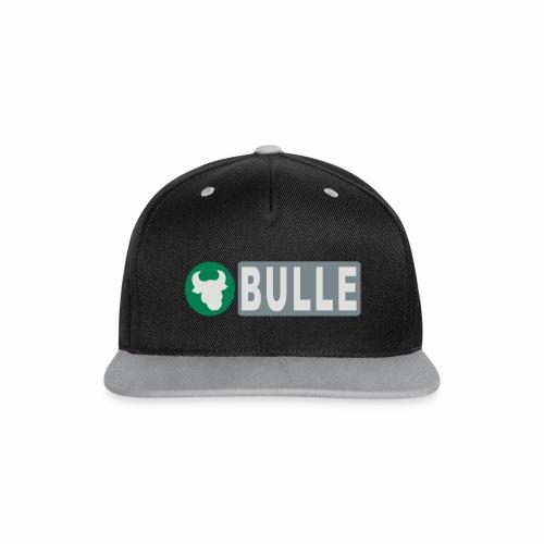 Shirt Bulle - Kontrast Snapback Cap