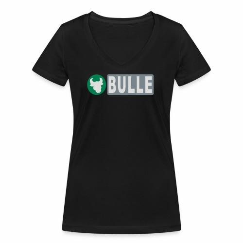 Shirt Bulle - Frauen Bio-T-Shirt mit V-Ausschnitt von Stanley & Stella