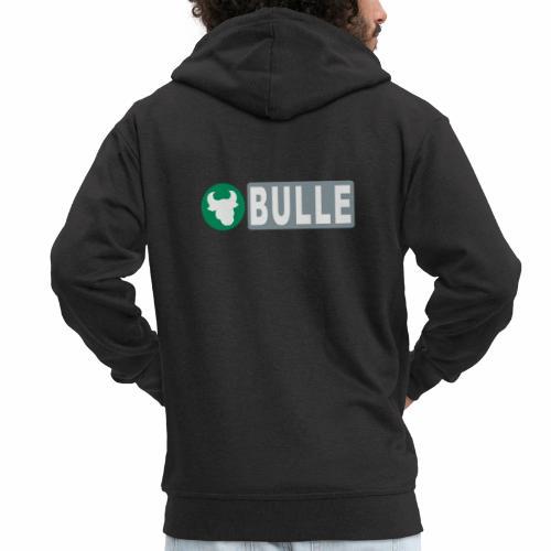 Shirt Bulle - Männer Premium Kapuzenjacke
