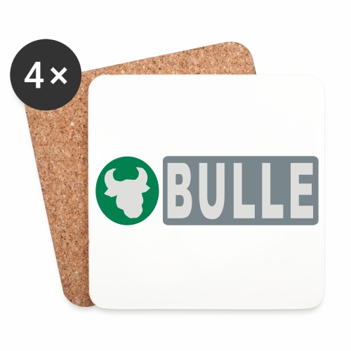Shirt Bulle - Untersetzer (4er-Set)