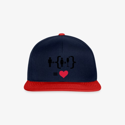 Men Women alcohol - Find the love Tops - Snapback Cap