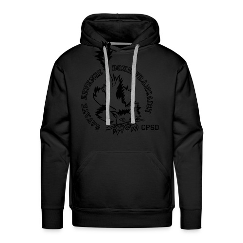 CHAT RECTO / balboa GOLD - Sweat-shirt à capuche Premium pour hommes