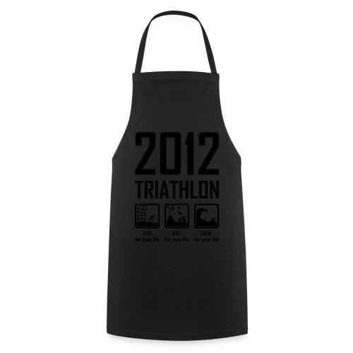 Triathlon - neon oranje - Keukenschort