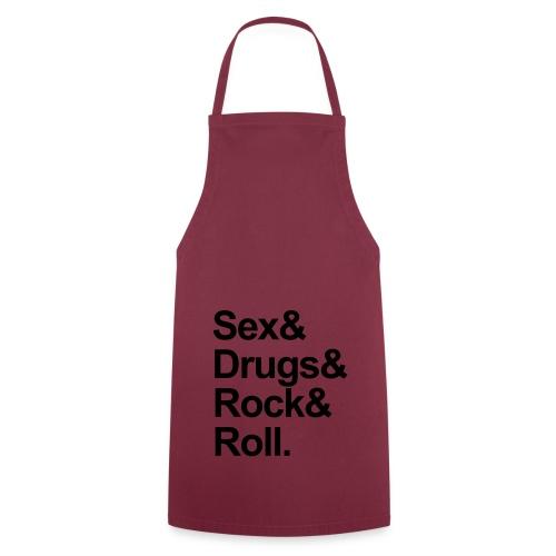 Sex,Drugs and R'n'R - Ladies Vest - Cooking Apron