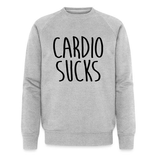 cardio sucks - Männer Bio-Sweatshirt von Stanley & Stella