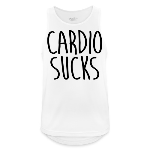 cardio sucks - Männer Tank Top atmungsaktiv