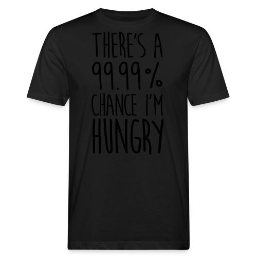 There's a 99,99% Chance - Männer Bio-T-Shirt