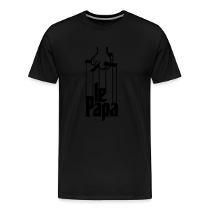 Le Paparrain - Men's Premium T-Shirt