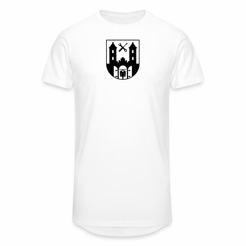 Simson Schwalbe - Suhl Wappen (+ Dein Text) - Men's Long Body Urban Tee