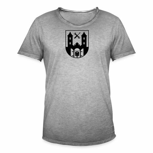 Simson Schwalbe - Suhl Wappen (+ Dein Text) - Men's Vintage T-Shirt
