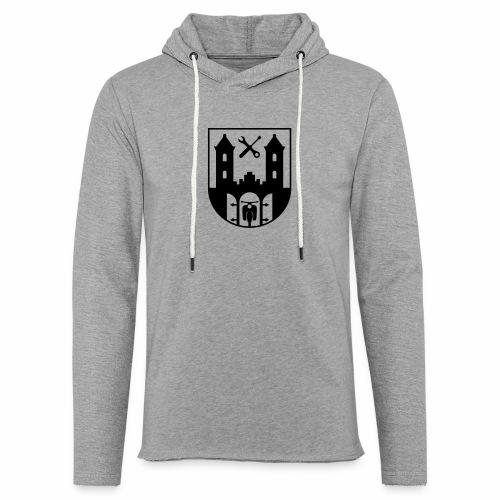 Simson Schwalbe - Suhl Wappen (+ Dein Text) - Light Unisex Sweatshirt Hoodie