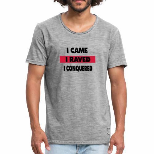 Raver - Männer Vintage T-Shirt