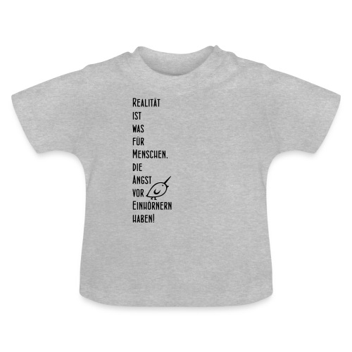 TWEETLERCOLLS Einhorn - Baby T-Shirt