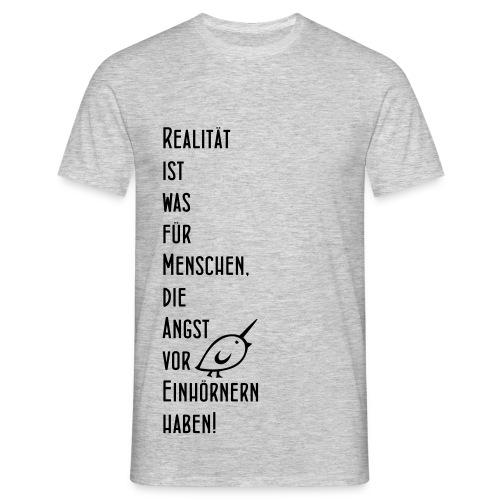 TWEETLERCOLLS Einhorn - Männer T-Shirt
