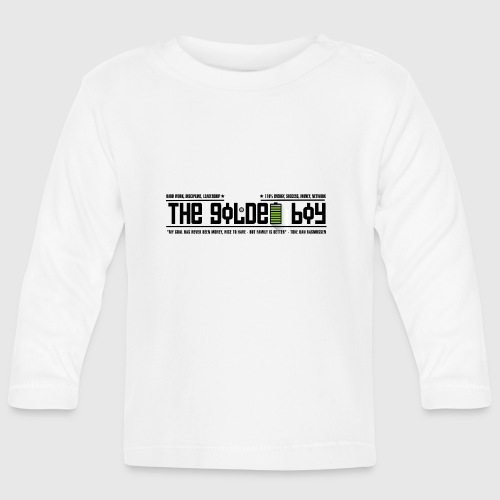 THE GOLDEN BOY - Langærmet babyshirt