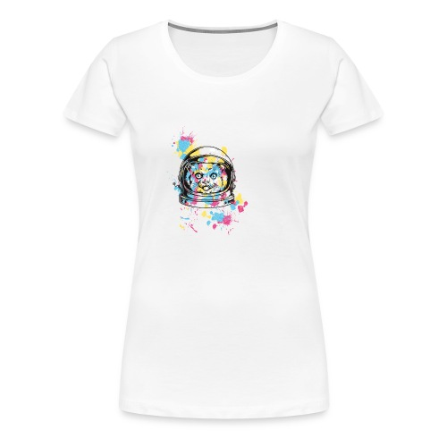 Buttons , 56 mm - Women's Premium T-Shirt
