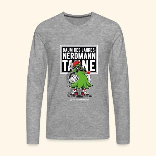 Nerdmanntanne - Männer Premium Langarmshirt