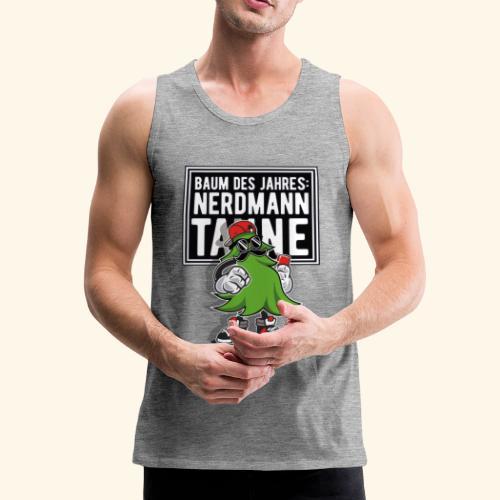 Nerdmanntanne - Männer Premium Tank Top