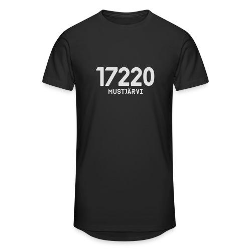 17220 MUSTJARVI - Miesten urbaani pitkäpaita