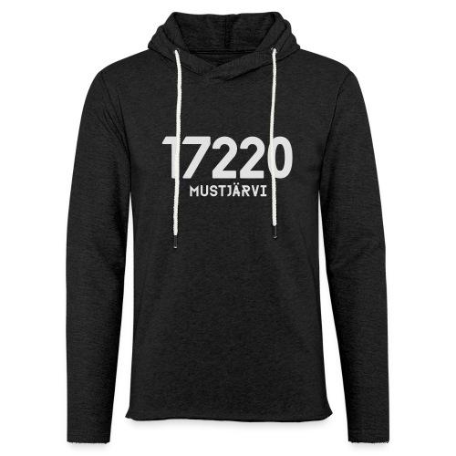 17220 MUSTJARVI - Kevyt unisex-huppari