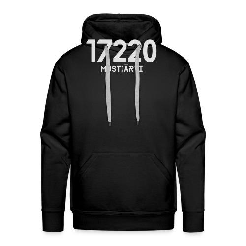 17220 MUSTJARVI - Miesten premium-huppari