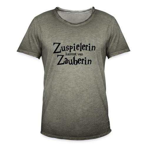 VolleyballFREAK Zuspielerin Zauberin - Männer Vintage T-Shirt