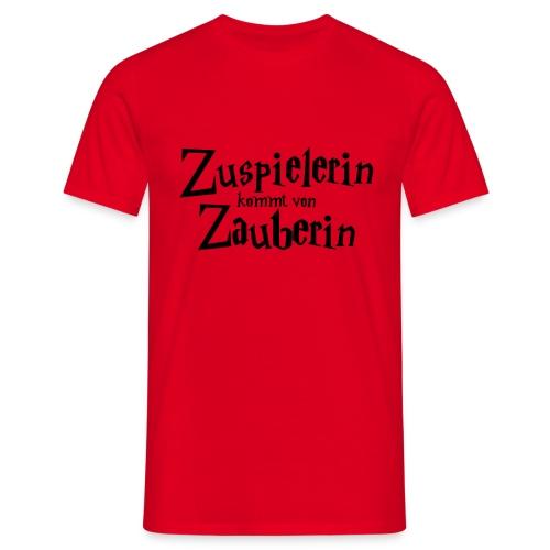 VolleyballFREAK Zuspielerin Zauberin - Männer T-Shirt